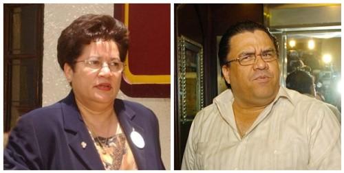 Vilma Morales y Arturo Corrales. Estos dos lo enredan todo, aunque lo hacen muy mal porque dejan muchas evidencias a su paso.